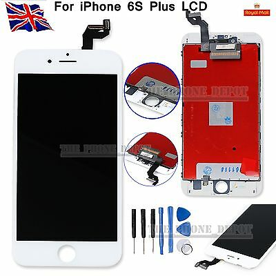 For iPhone 6S PLUS LCD Screen Assembly Digitizer Touch Display Replacement White