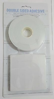 Double Sided Strong Adhesive Tape Sticky DIY Craft LCD Glass Screen Multi Use UK