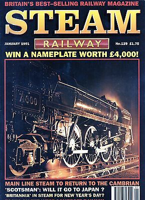 Steam Railway Magazines - 100 Issues VERY GOOD CONDITION