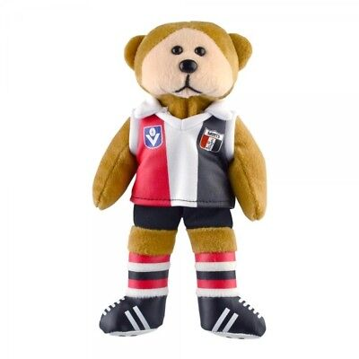 St Kilda Saints Heritage Player Bear  - Official AFL Beanie Kid 21cm