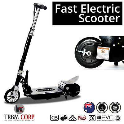 NEW Fast Electric Scooter 140W 24V Adjustable Height Folding, Kids, Manual Safe,