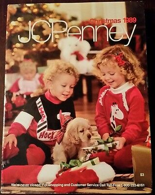 Jc Penney Wish Book 1989 Christmas Penneys Catalog Will Ship In A Box Safely