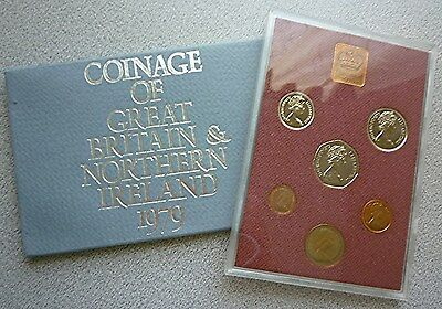1979 Great Britain / Northern Ireland Uk Proof Set (6) - British Decimal Coins