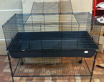 Indoor Rabbit Guinea Pig Cage Hutch + Stand 120cm PICK UP AVAILABLE