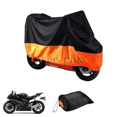 Rain Dust XL Waterproof Motorcycle Cover Protector For Honda CBR 600RR CBR600RR