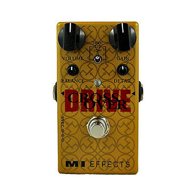 Brand New M.I. CrossOver Drive V2 - newest Cross Overdrive MI pedals IN STOCK!!