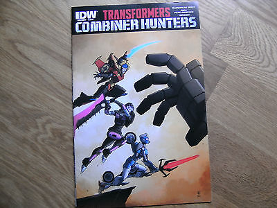 IDW Transformers One-shot Combiner Hunters graphic comic #1 July 2015 NEW! Scott