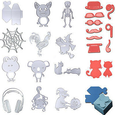Metal Cutting Dies Stencils DIY Scrapbooking Card Album Paper Embossing Craft