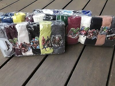 6PC Kid Boy Avengers ironman hero Cotton Underwear Undies Panties Bottoms 4-9yr