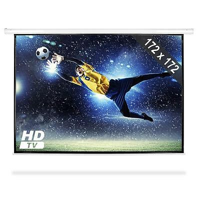 "96"" Projection Video Presentation Screen Display Wall Mountable Hdtv"
