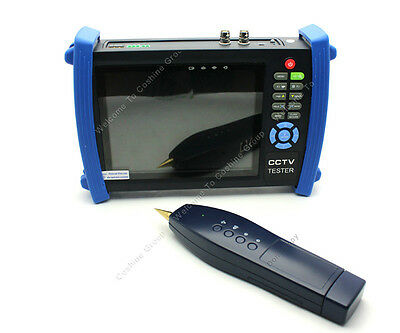 """HVT-3600 7""""Screen LCD Monitor CCTV Analog Camera Video Cable Tester PTZ Test"""
