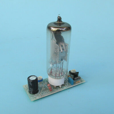 Magic Eye Tube 6E2 EM84 assembled board for power amp signal indication 170-250V