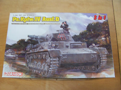 """Dragon 6265 - PzKpfw. IV Ausf. D """"3 in 1"""" - 1:35 OVP 165"""