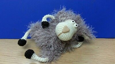 Dolly Sheep Amigurumi Collectable Handmade Crocheted Knitted Toy