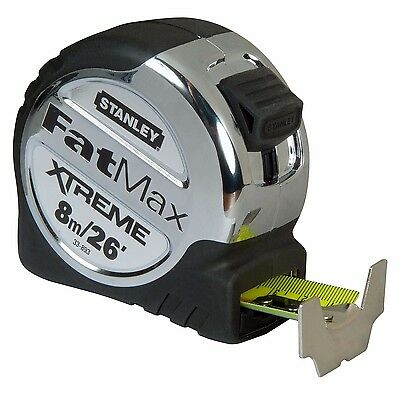 Stanley FatMax XTREME TAPE MEASURE 8m/26Ft Metric & Imperial 33-893 *USA Brand