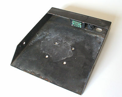 Wayfarer 2  & Saver Ticket Machine Base Plate Fits Saver Stand Alone Used