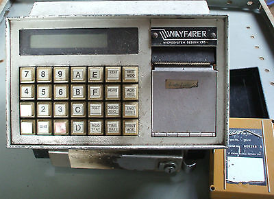Wayfarer 1 & 2 Ticket Machine Depot Reader Gold Module Fits Saver Used 2