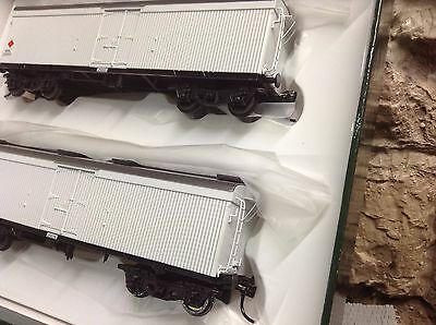 """NSWGR ~ """"MRC"""" BOGIE MEAT VAN, TWO (2) UNITS, """"TRAINORAMA"""" NEW IN BOX WITH KD's,"""