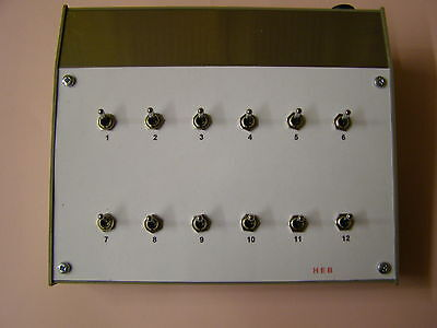 Model Railway Lighting Controller---12 Way