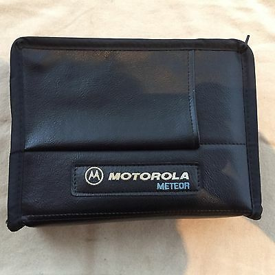 Motorola Meteor Vintage American Soft Bag Cell Phone Collectable