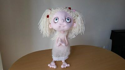 Angel Angelina doll Amigurumi Collectable Handmade Crocheted Knitted Toy