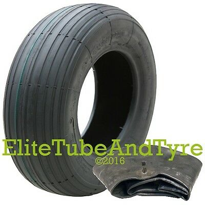 3.00-8 4ply Deli Wheelbarrow Tyre & Inner Tube Set. Max Load 200kg @ 60psi