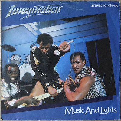 """7"""" Imagination - Music And Lights - Disco, Funk - Europa 1982 - VG++"""