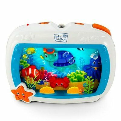 Baby Einstein Sea Dreams Soother With Motion And Light Effect Aquarium Crib Toy
