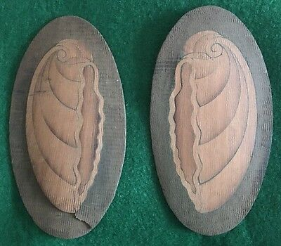 Pair Of Shell Inlay Patterns