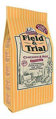 Skinners Field   Trial Chicken and Rice Dog Food, 15 kg