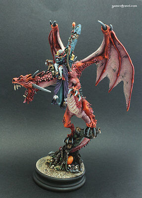 Carmine Dragon Empire Warhammer Fantasy Age of Sigmar Painted Forge World