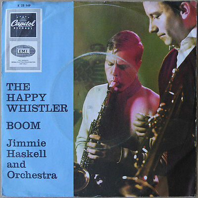 "7"" Jimmie Haskell - The Happy Whistler - Deutschland 1965 - NM Top RARE"