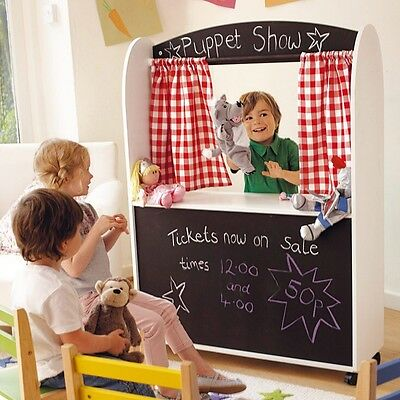 New White Great Little Toy Company (GLTC) Furniture  Play Shop & Theatre