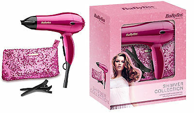 BaByliss 5248AGU Shimmer Collection Limited Edition 2000W Hair Dryer Set