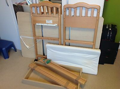 Baby Changing Table Unit, Solid Wood, Used