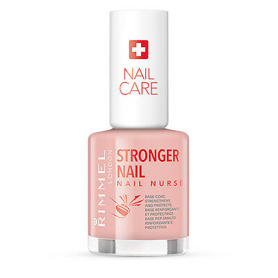 Rimmel London Nail Nurse Stronger Nail Base Coat Protects and Grows Nails12 ml