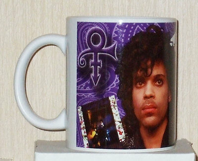 Prince albums Tribute collectable mug