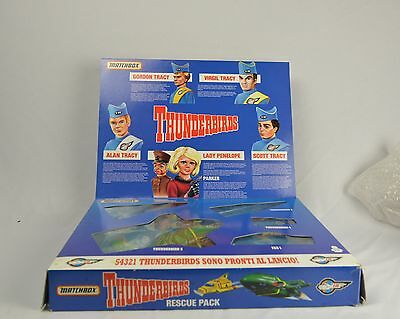 Matchbox Thunderbirds Rescue Pack Vehicle Set