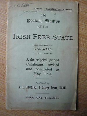 Irish Free State Stamps catalogue, Ware 4th Edition updated to May 1926