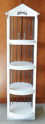 FRANCIS FORD COPPOLA WINERY Store Display Rack Man Cave Den Basement 68x17x17