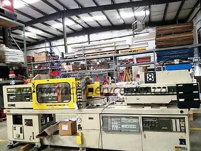 113 Ton, 8.2 Oz. Toshiba Injection Molding Machine '88