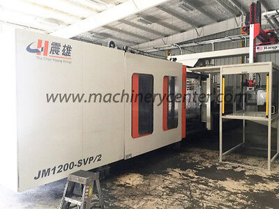 1320 Ton, 142 Oz. Chen Hsong Injection Molding Machine '12