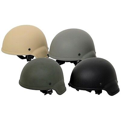 """Casque Mich Tc 2000 Light Helmet Us Army Swat Airsoft Noir / Tan / Olive """"neuf"""""""