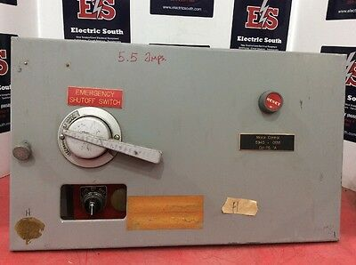 """ITE Gould Model 9600 Motor Control Bucket 12"""" Size 1 A203C 10 Amp EF3-A010"""