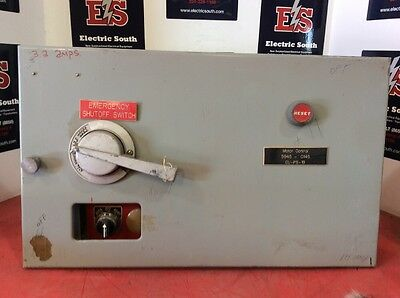 """ITE Gould Model 9600 Motor Control Bucket 12"""" Size 1 A203C 5 Amp EF3-A005"""