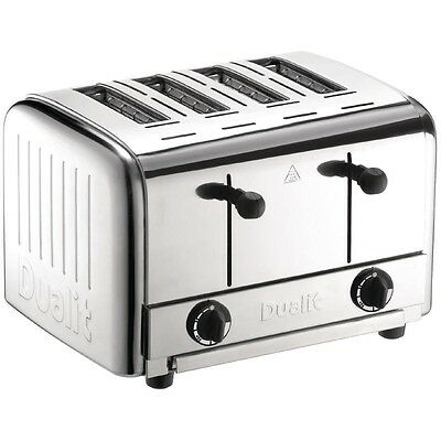 Dualit Caterers Pop Up Toaster EBDK840-B
