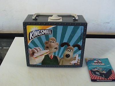 Rare Wallace And Gromit Kingsmill Bread Kids Lunch Box Promotional Item