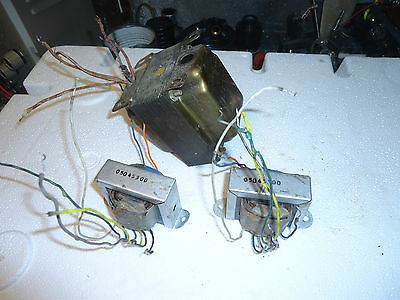 Vintage Philips Stereo Tube  Amplifier Transformer Set ,power And Outputs