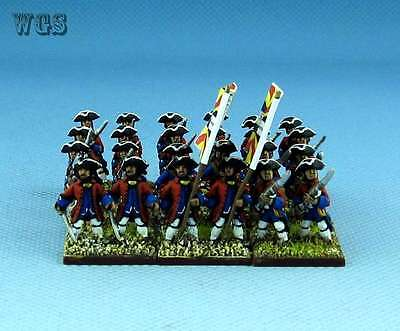 15mm SYW Seven Years War WGS painted French 77th REGIMENT Fa5