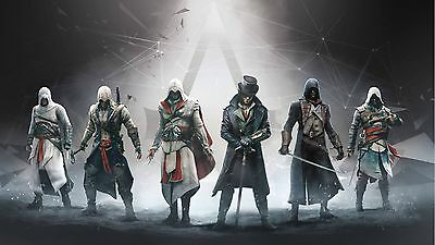ASSASSIN'S CREED GAMER 11x17 MINI MOVIE POSTER COLLECTIBLE